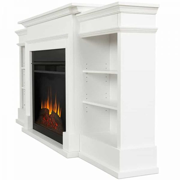 Ashton Grand Media Electric Fireplace by Real Flame 3