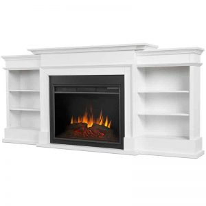 Ashton Grand Media Electric Fireplace by Real Flame