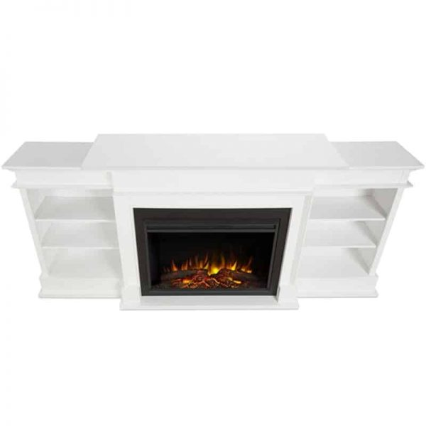 Ashton Grand Media Electric Fireplace by Real Flame 4