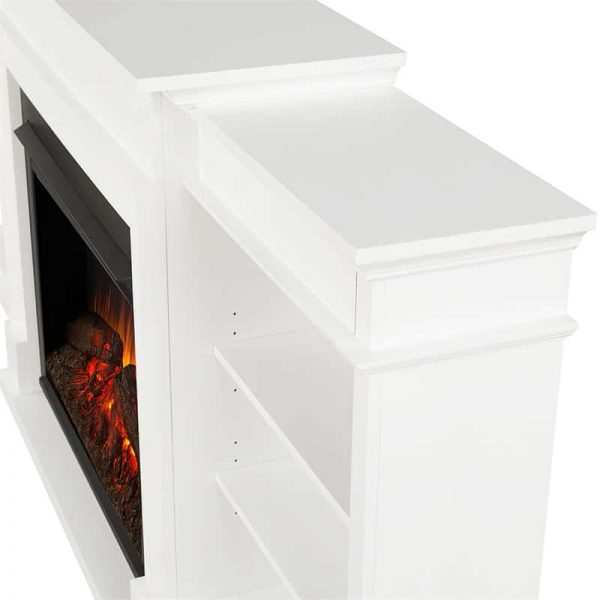 Ashton Grand Media Electric Fireplace by Real Flame 7