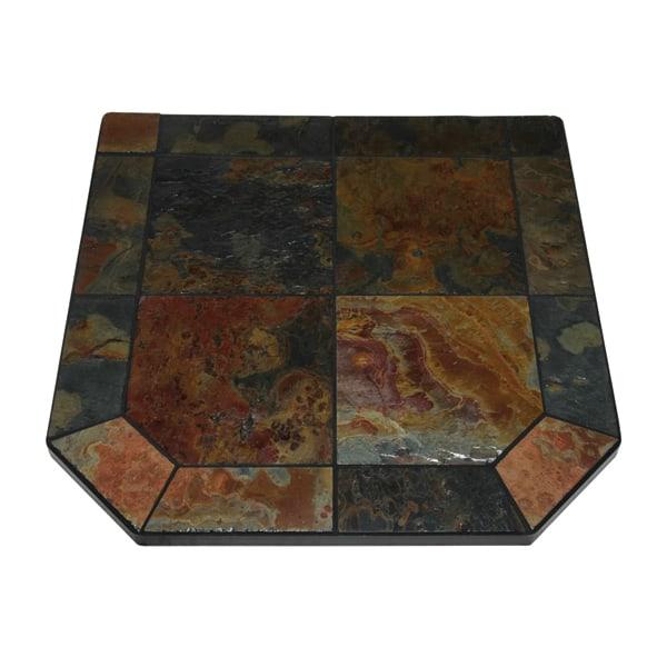 Asian Slate Single Cut Corner Stove Board
