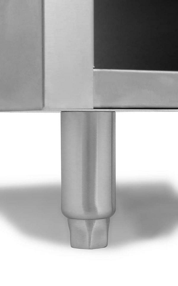 Atosa USA ATSP-18-1 (High BTU 80,000) Heavy Duty Stainless Steel Stock Pot Stove - Natrual Gas Double Burner 2