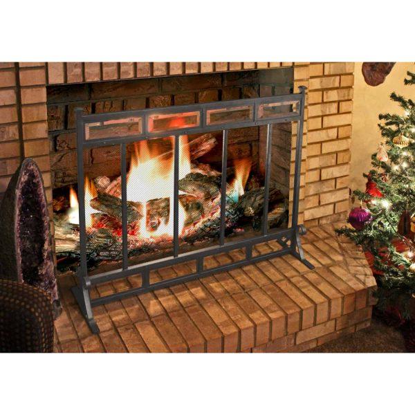 Atticus Fireplace Screen 1