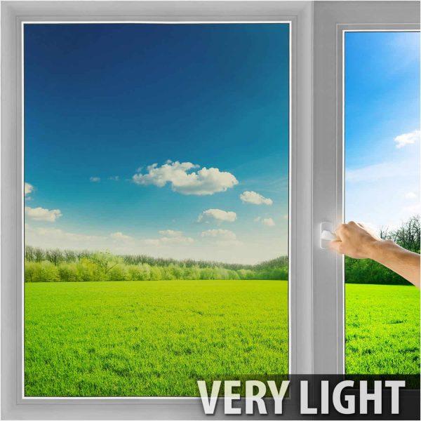 BDF NSN70 Transparent High Heat Rejection & UV Cut (Very Light) Window Film 36in X 7ft by BuyDecorativeFilm 3
