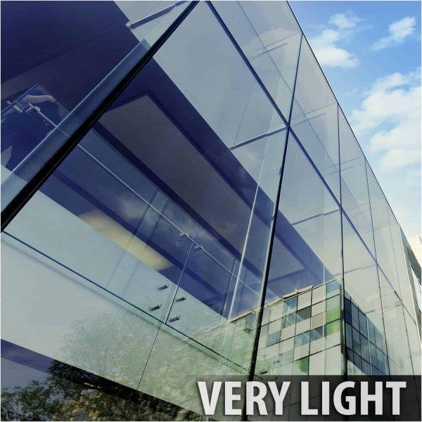 BDF NSN70 Transparent High Heat Rejection & UV Cut (Very Light) Window Film 36in X 7ft by BuyDecorativeFilm