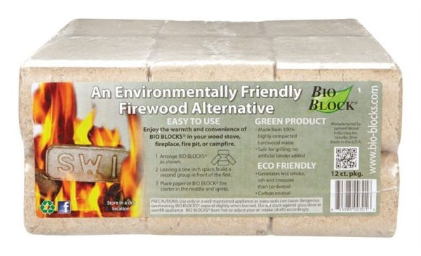 BIO BLOCKS FIRELOGS 12PK by BIO BLOCK MfrPartNo BIO-12A