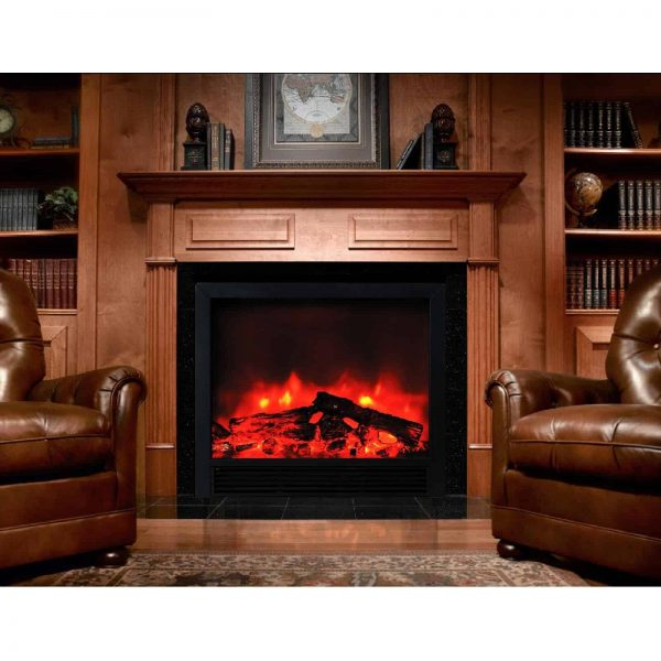 """BLAZE ELECTRIC FIREPLACE INSERT 33""""W X 30""""H X 9""""D WITH REMOTE CONTROL AND 2 SPEED HEATER 2"""
