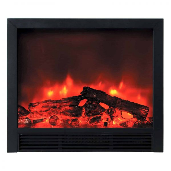 "BLAZE ELECTRIC FIREPLACE INSERT 33""W X 30""H X 9""D WITH REMOTE CONTROL AND 2 SPEED HEATER"