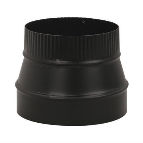 BM0075 Black Stove Pipe Reducer