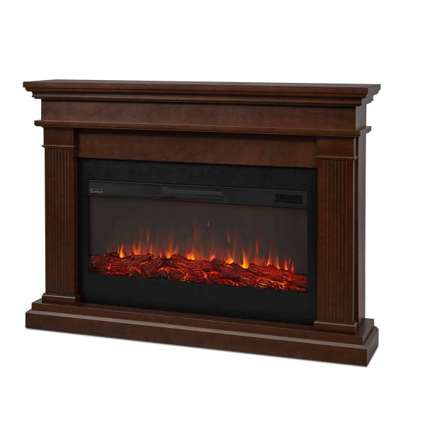 Beau Electric Fireplace in Dk Walnut by Real Flame 1