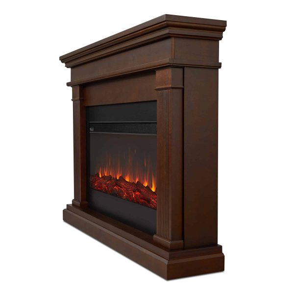 Beau Electric Fireplace in Dk Walnut by Real Flame 2