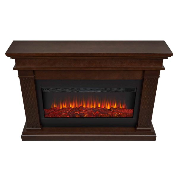 Beau Electric Fireplace in Dk Walnut by Real Flame 3