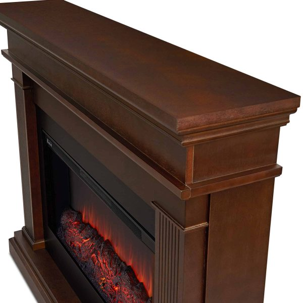 Beau Electric Fireplace in Dk Walnut by Real Flame 4