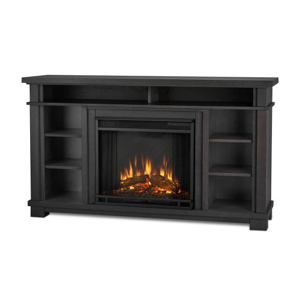Belford Electric Fireplace in Gray by Real Flame 1