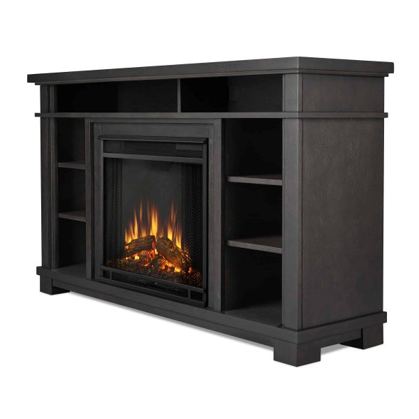 Belford Electric Fireplace in Gray by Real Flame 2