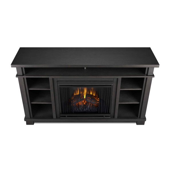 Belford Electric Fireplace in Gray by Real Flame 3
