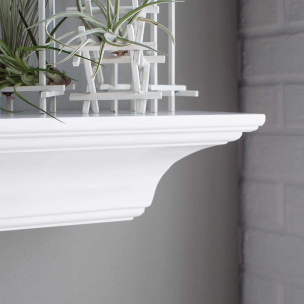 Belham Living Palmer Fireplace Mantel Shelf 2