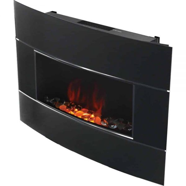 Bionaire Black Electric Fireplace 1