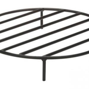Black Steel Fire Ring Grate - 12 inch