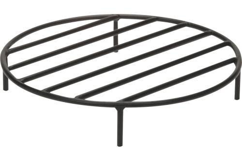 Black Steel Fire Ring Grate - 19 inch