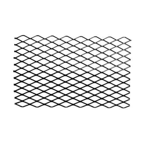 Black Steel Retainer Ember for Grates - 12 x 7 inch