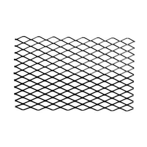 Black Steel Retainer Ember for Grates - 16 x 10 inch