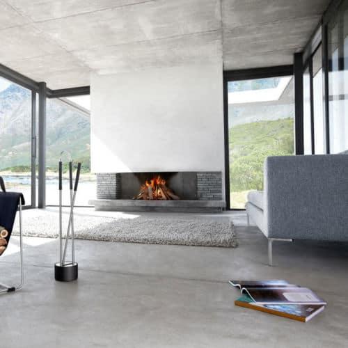 Blomus 2 Piece Fireplace Tool Set 1
