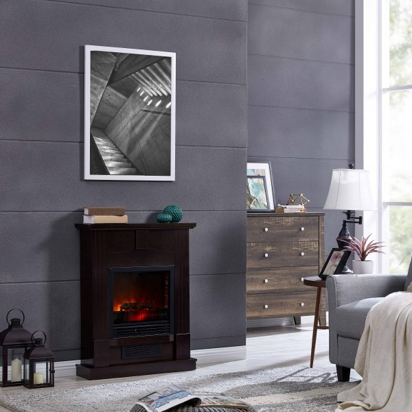Bold Flame 28 inch Electric Fireplace Heater