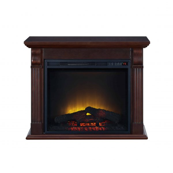 Bold Flame 33.46 inch Electric Fireplace in Chestnut 2