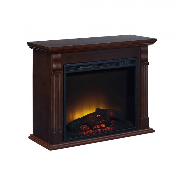 Bold Flame 33.46 inch Electric Fireplace in Chestnut 3