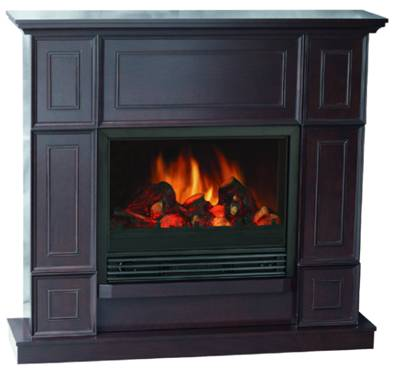 Bold Flame 43.31 inch Electric Fireplace in Dark Chocolate 1
