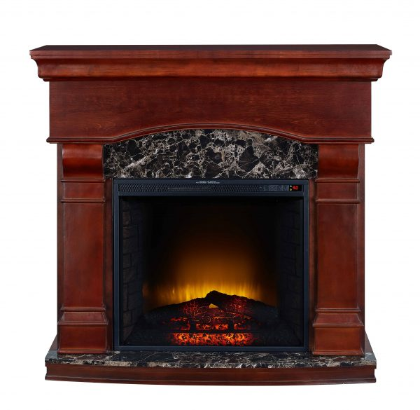 Bold Flame 47 inch Electric Fireplace in Walnut 1