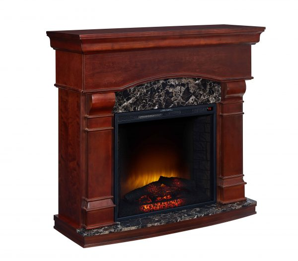 Bold Flame 47 inch Electric Fireplace in Walnut 2