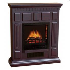 Bold Flame Electric with 32 inch Mantle in Dark Cherry 2