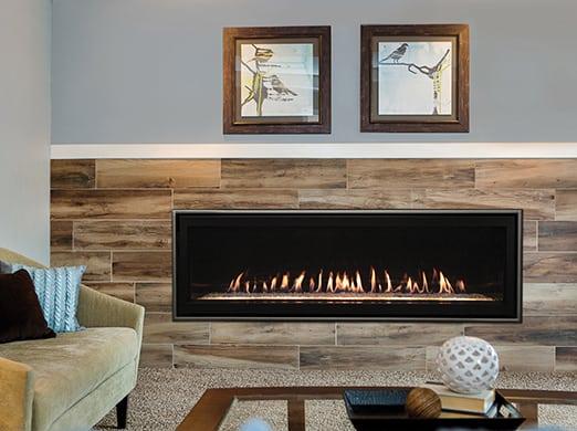 "Boulevard DV Linear Contemporary 60"" Multi-Function Fireplace -Propane 1"