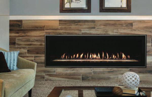 "Boulevard DV Linear Contemporary 60"" Multi-Function Fireplace -Propane"