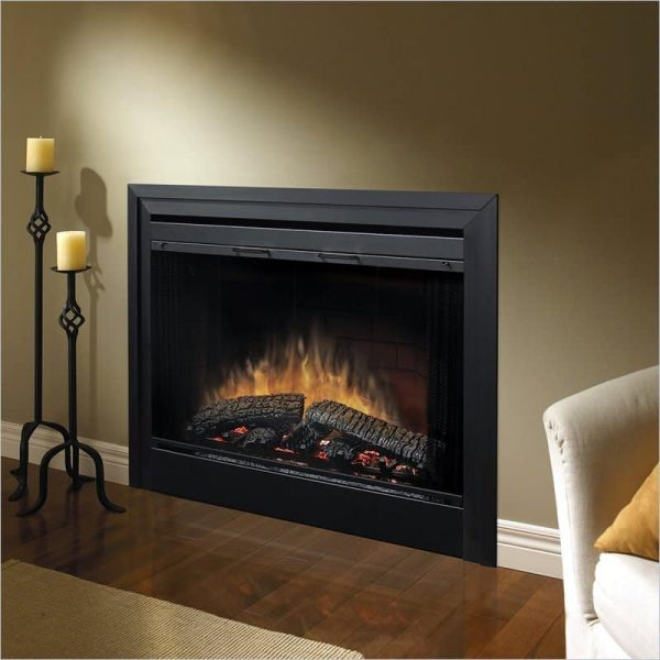 "Bowery Hill 39"" Electric Fireplace with Air Treatment System"