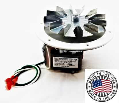 Breckwell Pellet Stove Combustion Exhaust Blower Fan Motor Kit