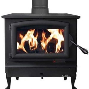 Buck Stove FP-21-G Non-Catalytic Wood Burning Stove w/ Gold Door