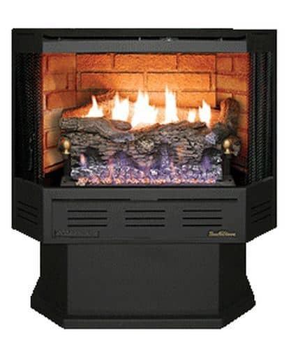 Buck Stove NV-C329B3-LP Thermostatic Vent Free Gas Stove - LP