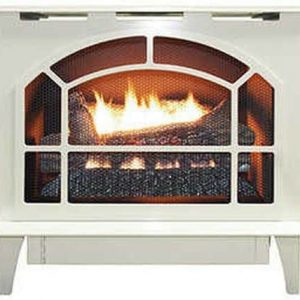 Buck Stove Townsend Ii Vent Free Steel Stove in Almond - LP