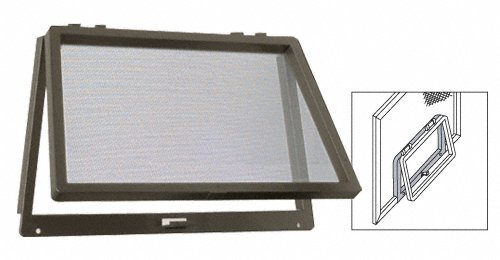 C.R. LAURENCE 828BRZ CRL Bronze Plastic Screen Wicket
