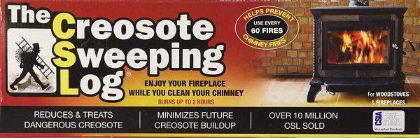 CSL Creosote Sweeping Log