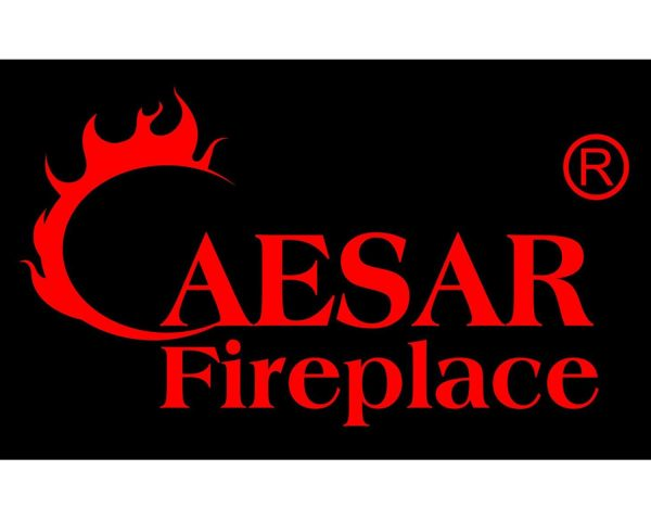 Caesar Luxury CHFP-40B Linear Wall Mount Recess Freestanding Multicolor Flame Electric Fireplace with Backlight, 40-Inch 18