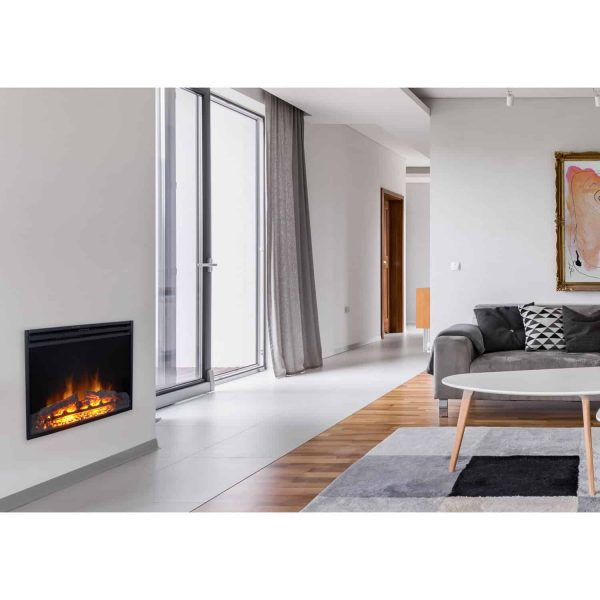 Cambridge 28-In. Freestanding 5116 BTU Electric Fireplace Insert with Remote Control 1