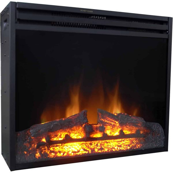Cambridge 28-In. Freestanding 5116 BTU Electric Fireplace Insert with Remote Control