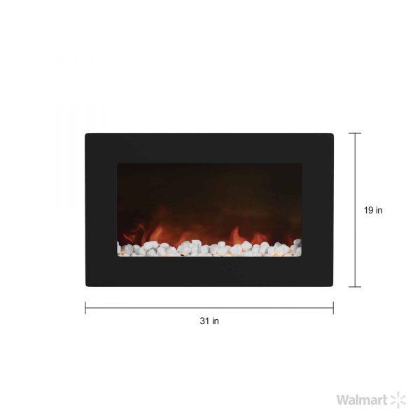 Cambridge Callisto Flat Panel Electric Wall Mount Electric Fireplace 4