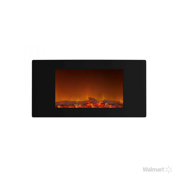 Cambridge Callisto Wall-Mount Curved Electric Fireplace 3