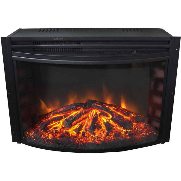 Cambridge Freestanding 5116 BTU Curved Electric Fireplace Insert