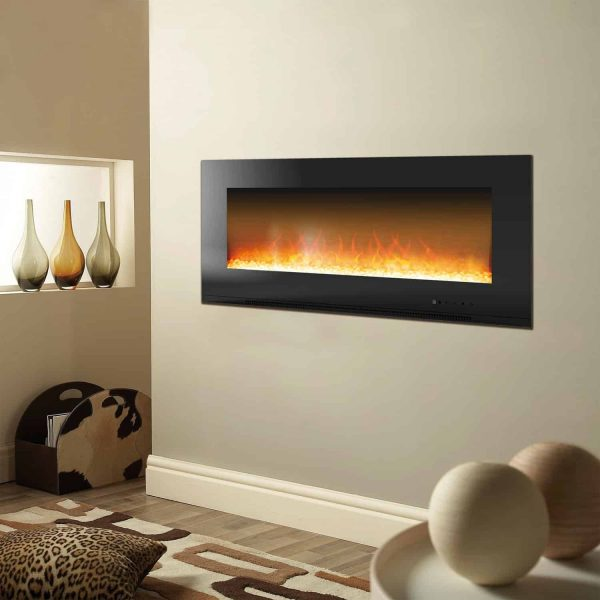 Cambridge Metropolitan Wall Mount Electric Fireplace Heater